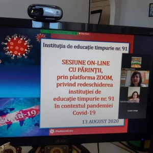 Instruiri on-line pentru părinții ce au copii de vârstă preșcolară