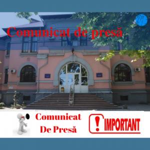Comunicat de presă cu privire la sesizarea lansată în mass-media și interzicerea colectărilor ilicite de bani în instituțiile de învățământ general